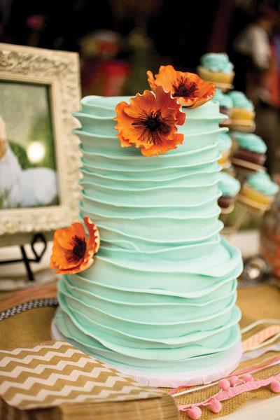 Bridal Show Cake